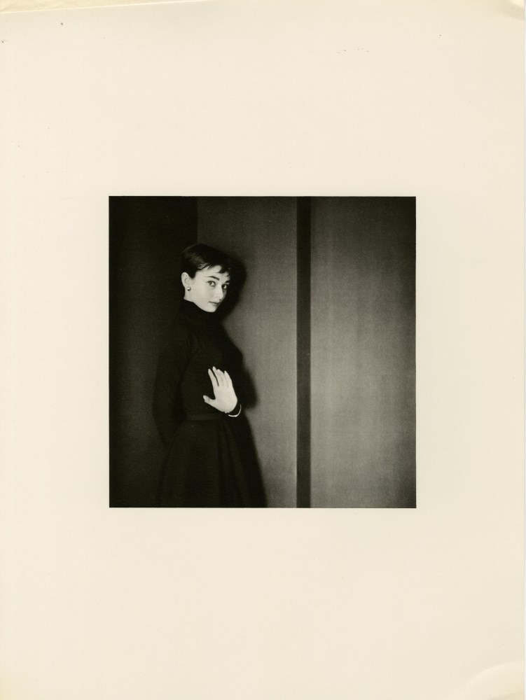 Lot #35: CECIL BEATON - Audrey Hepburn - Original vintage photogravure