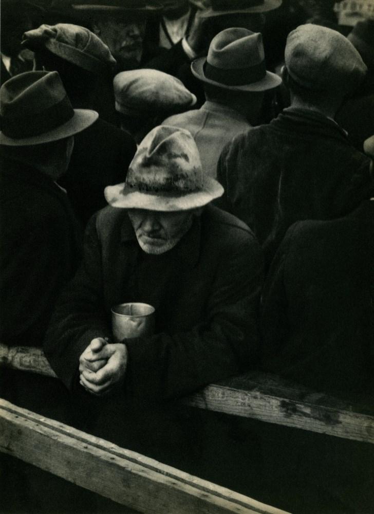 Lot #22: DOROTHEA LANGE - White Angel Breadline, San Francisco - Original vintage photogravure