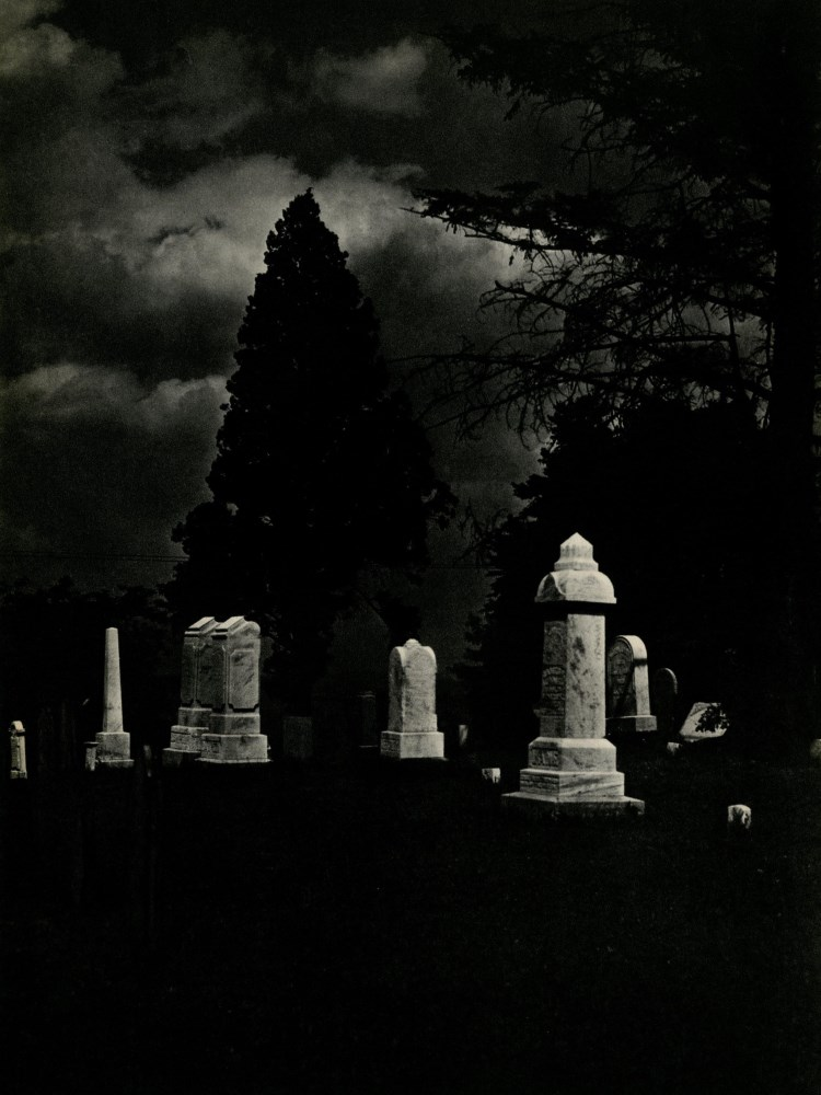 Lot #24: LUKE SWANK - West Middleton, Pennsylvania, Cemetery - Original vintage photogravure