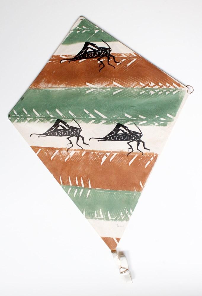 Lot #83: FRANCISCO TOLEDO - Tres Saltamontes - Color stencil cut