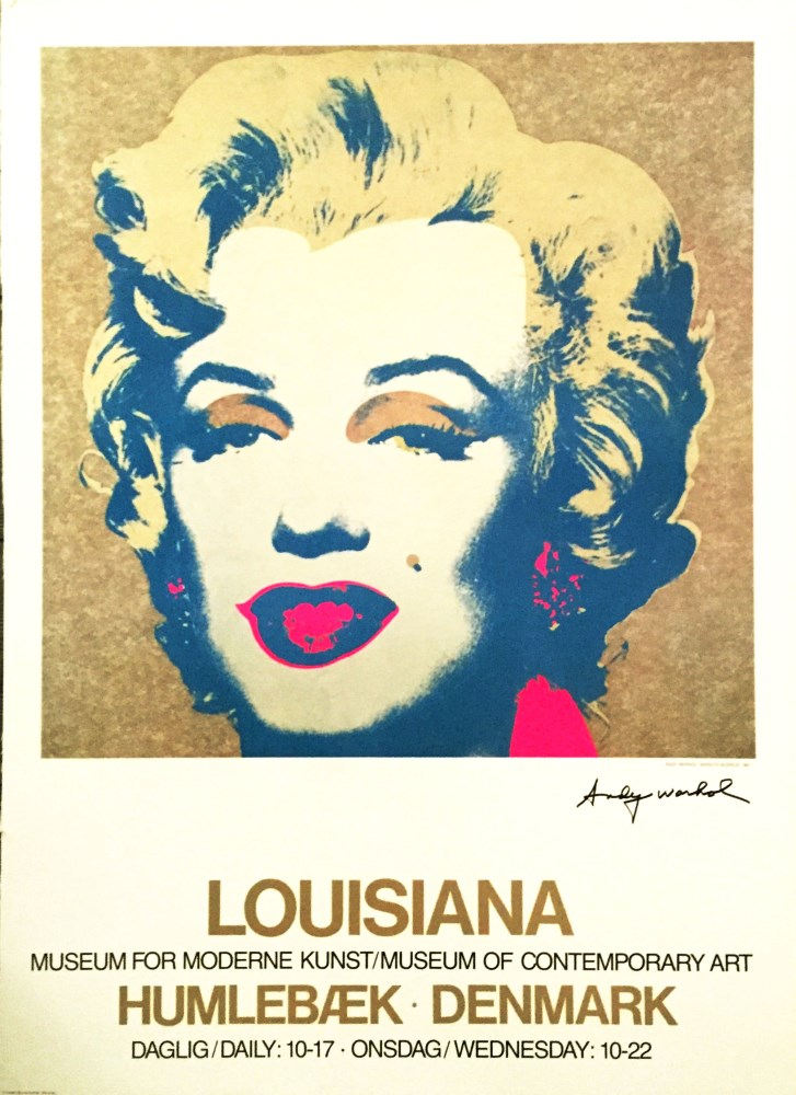 Lot #1122: ANDY WARHOL - Marilyn - Color offset lithograph