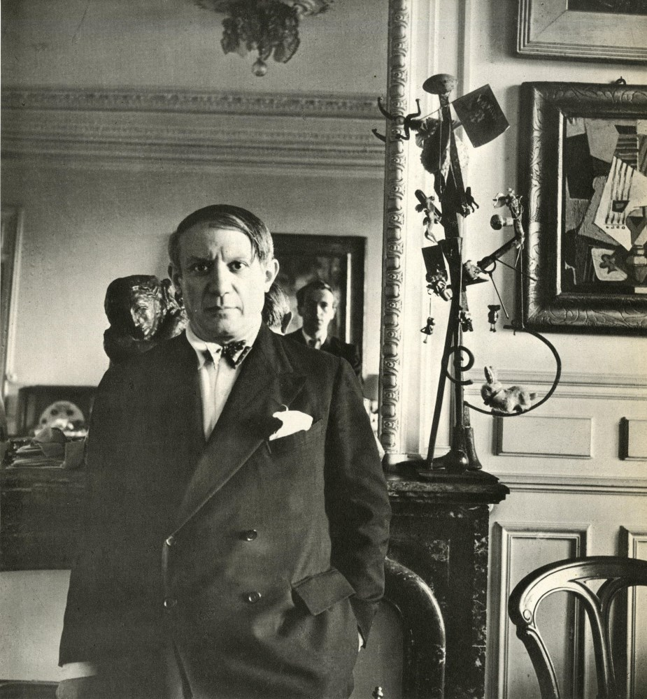 Lot #1013: CECIL BEATON - Pablo Picasso, rue de la Boetie #1 - Original vintage photogravure