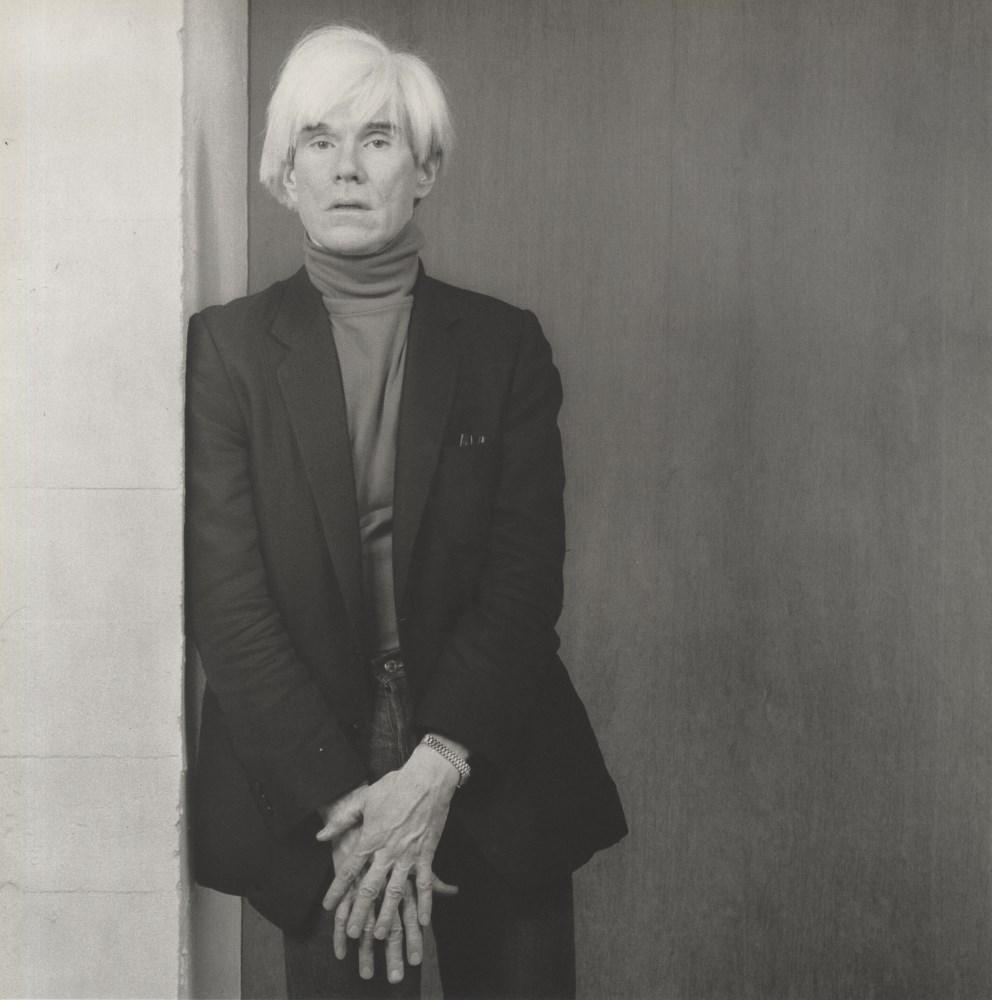 Lot #734: ROBERT MAPPLETHORPE - Andy Warhol - Original vintage photogravure