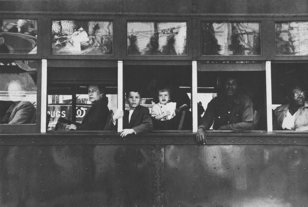 Lot #77: ROBERT FRANK - Trolley, New Orleans - Original photogravure