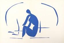 Lot #2200: HENRI MATISSE - Baigneuse dans les roseaux - Original color lithograph