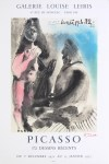 Lot #1768: PABLO PICASSO - Picasso: 172 Dessins Recents - Original color lithograph