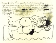 Lot #1223: PABLO PICASSO - Hommage a Georges Braque - Lithograph