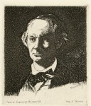 Lot #2153: EDOUARD MANET - Charles Baudelaire de Face III - Etching