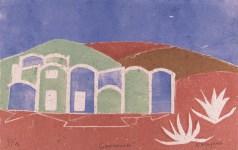 Lot #2026: KARIMA MUYAES - Geomorada - Color silkscreen