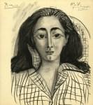 Lot #1197: PABLO PICASSO - Jacqueline - Original lithograph