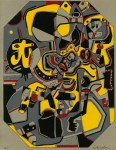 Lot #1491: STEVE WHEELER - A Pica of T - Original color silkscreen