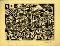 Lot #1824: STEVE WHEELER - Newbe - Original silkscreen