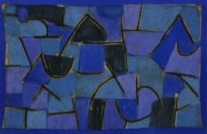 "Lot #1419: PAUL KLEE - Blue Night [""Nuit Bleu""] - Original color collotype"