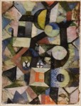 Lot #2124: PAUL KLEE - Composition - Original color collotype