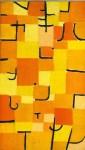 "Lot #1666: PAUL KLEE - Signs in Yellow [""Signes en Jaune""] - Original color collotype"
