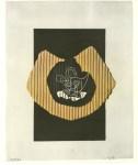 Lot #1926: GEORGES BRAQUE - Le cygne - Original color collotype