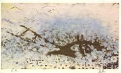 Lot #1941: GEORGES BRAQUE - La charrue - Original color collotype