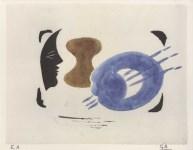 Lot #1742: GEORGES BRAQUE - Profil et palette - Original color collotype