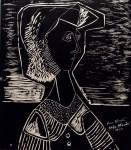 Lot #236: FELIPE ORLANDO - Portrait - Original lithograph