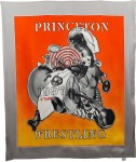 Lot #232: FRANK STELLA - Princeton Wrestling Scarf [Chiffon] - Multiple/Textile