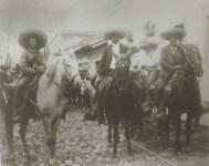 Lot #2078: AGUSTIN VICTOR CASASOLA - Emiliano Zapata Tomo Cuernavaca [full view - horizontal] - Gelatin silver print