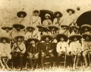 Lot #2077: AGUSTIN VICTOR CASASOLA - Emiliano Zapata y Estado Mayor - Gelatin silver print