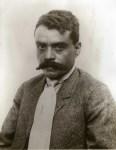 Lot #568: AGUSTIN VICTOR CASASOLA - Emiliano Zapata, Retrato Rostro - Gelatin silver print