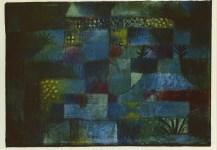 "Lot #123: PAUL KLEE - Terraced Garden [""Jardin en terrasses""] - Original color collotype"