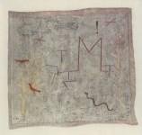 "Lot #2250: PAUL KLEE - ""M"" Garden Gate [""Portail du jardin M""] - Original color collotype"