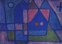 "Lot #2244: PAUL KLEE - A Little Room in Venice [""Ein Stubchen in Venedig""] - Original color collotype"