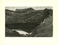 "Lot #1535: PAUL KLEE - Upper Lake Stockhorn [""Oberer Stockhornsee""] - Original lithograph"