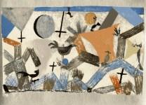 "Lot #1951: PAUL KLEE - Kingdom of the Birds [""Vogelreich""] - Original color lithograph"