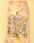 "Lot #2218: PAUL KLEE - Arabian City [""Arabische Stadt""] - Original color lithograph"