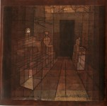 """Lot #1772: PAUL KLEE - Perspective with Open Door [""""Perspektive mit offener Ture""""] - Original color lithograph"""