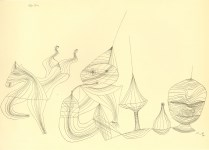 "Lot #1788: PAUL KLEE - Overtones [""Obertone""] - Original lithograph"