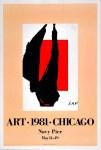 Lot #2216: ROBERT MOTHERWELL - Art 1981 Chicago - Original color lithograph
