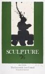 Lot #1681: ROBERT MOTHERWELL - Sculpture '76 - Original color lithograph