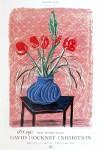 Lot #1474: DAVID HOCKNEY - Amaryllis in Vase - Color offset lithograph