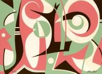 Lot #291: STEVE WHEELER - On a Chilly Knight - Original color silkscreen