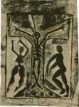 Lot #287: KARIMA MUYAES - Oracion Caribe - Color stencil monoprint