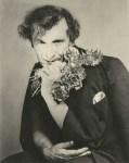 Lot #1893: GEORGE PLATT LYNES - Marc Chagall in a Suggestive Pose - Original vintage photogravure