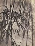 Lot #541: CHIN-SAN LONG [lang jingshan/lang ching-shan] - Feuilles de bambou - Original vintage photogravure