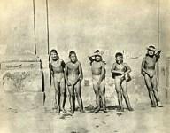 Lot #535: HENRI CARTIER-BRESSON - Five Naked Boys - Original vintage photogravure