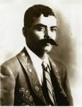 Lot #2076: AGUSTIN VICTOR CASASOLA - Emiliano Zapata, Traje y Corbata - Gelatin silver print