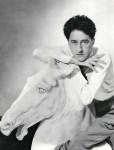 Lot #106: GEORGE HOYNINGEN-HUENE - The Poet Jean Cocteau on a Plaster Horse - Original vintage photogravure