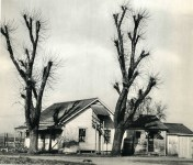 Lot #2065: EDWARD WESTON - Farm House, Salinas Valley - Original vintage photogravure