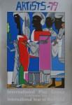 Lot #1456: ROMARE BEARDEN - Artists - 79 - Color silkscreen