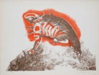 Lot #94: GUILLERMO MEZA - Tigre de los Pueblos - Color lithograph