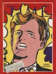 Lot #2180: ROY LICHTENSTEIN - Bobby Kennedy - Color offset lithograph