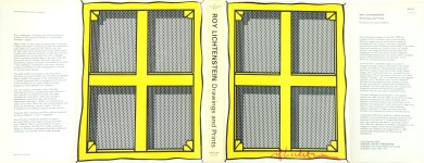 Lot #1638: ROY LICHTENSTEIN - Stretcher Frame with Cross Bars - Color offset lithograph